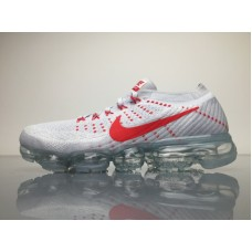 2018 Nike Air VaporMax Flyknit, Color Red And White