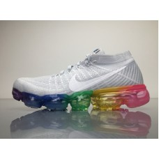2018 Nike Air VaporMax Flyknit Women's Boots, Color White