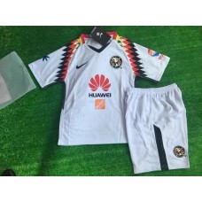 17-18 Club America White Kid Kit (17-18 美洲白色童装)