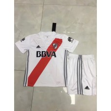 17-18 River Plate Home White Kid Kit (17-18 河床主场白色童装)