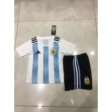 2018 World Cup Argentina Home Kid Kit (2018世界杯阿根廷主场童装)