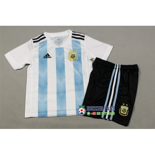 2018 World Cup Argentina Home Kid Kit 2018