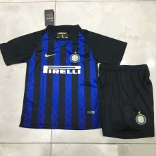 18-19 Inter Milan Home Blue Kid Kit (18-19国米主场蓝色童装)