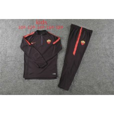 18-19 Roma Deep Red kid training suit (18-19罗马深红色童装训练服)