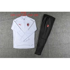 18-19 AC Milan White Kid Training suit (18-19AC米兰白色童装训练服)