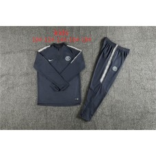18-19 Inter Milan Navy Blue Kid Training suit (18-19国米深蓝色童装训练服)