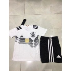 2018 WORLD CUP Germany Home White Kid Kit (2018世界杯德国主场白色童装)
