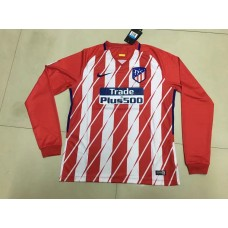 17-18 Atletico Madrid Home Red Long Sleeve Thai quality (17-18 马竞主场红色长袖)