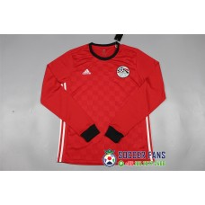 2018 World Cup Egypt Home Red Long Sleeve (2018世界杯埃及主场红色长袖)