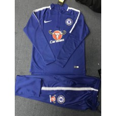 17-18 Chelsea Blue Training suit (17-18 切尔西蓝色训练服)