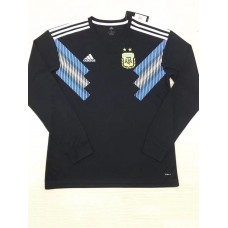 2018 World Cup Argentina Away Black Long Sleeve (2018世界杯阿根廷客场黑色长袖)
