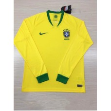 2018 World Cup Brazil Home Yellow Long Sleeve (2018世界杯巴西主场黄色长袖)