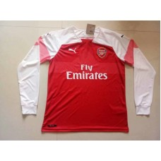18-19 Arsenal Home Red Long Sleeve (18-19阿森纳主场红色长袖)