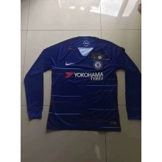 18-19 Chelsea Home Blue Long Sleeve (18-19切尔西主场蓝色长袖)