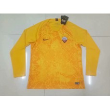 18-19 Roma Third Yellow Long Sleeve (18-19罗马二客黄色长袖)