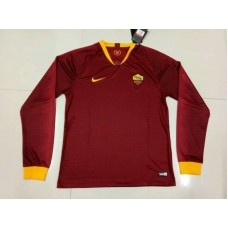 18-19 Roma Home Red Long Sleeve (18-19罗马主场红色长袖)