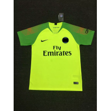 18-19 Paris Green Short Sleeve Goal Keeper Jersey (18-19巴黎绿色守门服短袖)