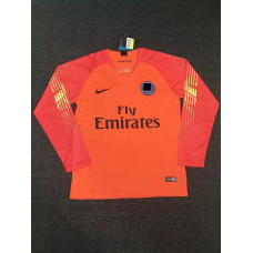 18-19 Paris Red Long Sleeve Goal Keeper Jersey (18-19巴黎红色守门服长袖)