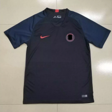 18-19 Paris Blue Training T-Shirt (18-19 巴黎蓝色训练T恤)