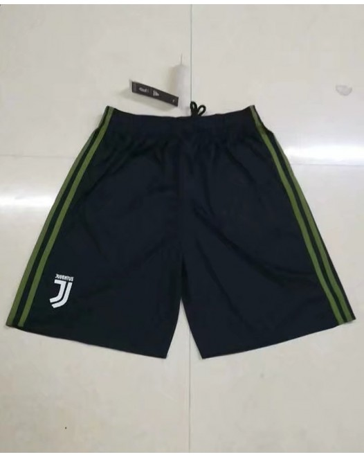 17-18 Juventus Third Black Shorts  (17-18尤文二客场黑色短裤)