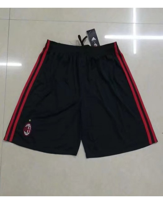 17-18 AC Milan Third Black Shorts  (17-18AC米兰二客场黑色短裤)