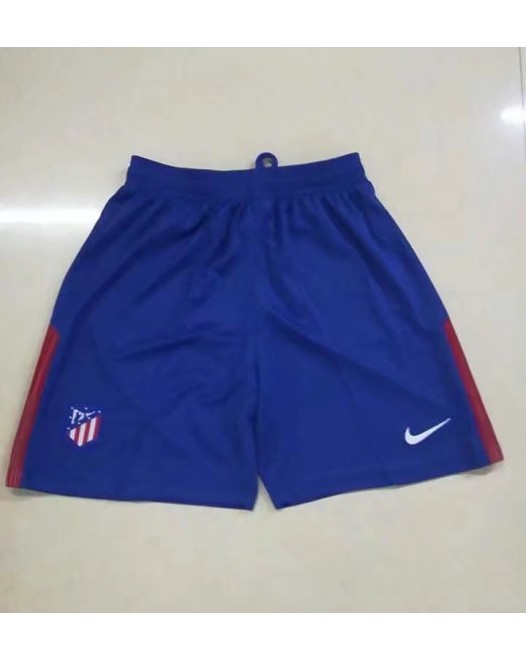 17-18 Atletico Madrid Home Blue Shorts  (17-18马竞主场蓝色短裤)