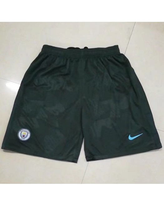 17-18 Manchester City Third Shorts (17-18曼城二客短裤)