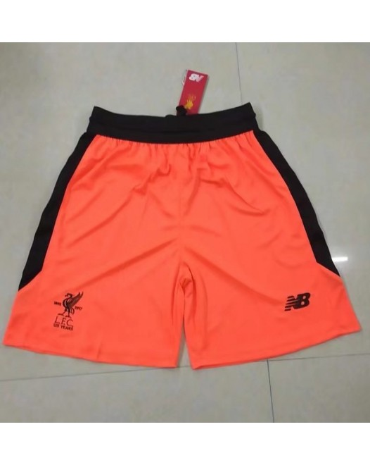 17-18 Liverpool Third Orange Shorts (17-18利物浦二客短裤)