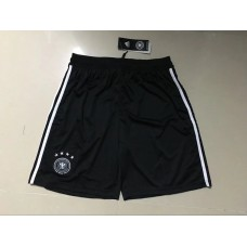 2018 World Cup Germany Home Black Shorts (2018世界杯德国主场黑色短裤)