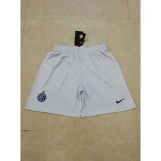18-19 Inter Milan Third White Fans Verison Shorts (18-19国米二客浅灰色短裤)