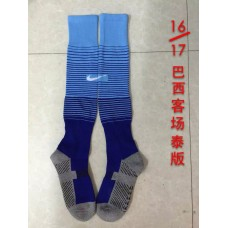 16-17 Brazil  Away Sock,Thai Quality