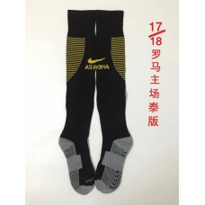 17-18 Rome Home Socks,Thai Quality (17-18 罗马主场袜子)