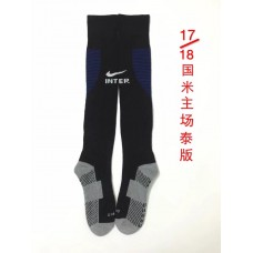 17-18 Inter Milan Home Socks,Thai Quality (17-18 国米主场袜子)