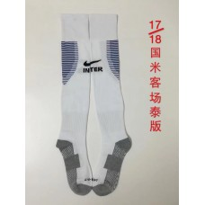 17-18 Inter Milan Away Socks,Thai Quality (17-18 国米客场袜子)