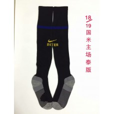 18-19 Inter Milan Home Black Socks (18-19国米主场黑色袜子)